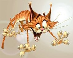 """Svet cat"" by Dennis Jones. A classic! Silly Cats, Crazy Cats, Cats And Kittens, Cute Cats, Ragdoll Kittens, Funny Kittens, Bengal Cats, White Kittens, Adorable Kittens"