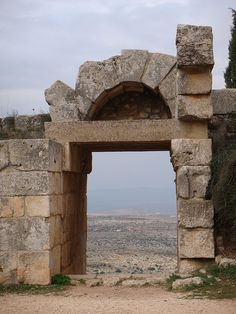 St. Simeon, Syria (in the distance is Turkey)
