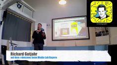 Snapchat für Dummies: Richard Gutjahr auf dem #dmcmuc