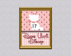 Marie Disney Trip Countdown Calendar by AbilityPoweredDesign