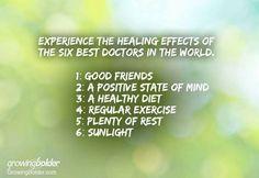 Best Doctors, Doctor In, Regular Exercise, Best Friends, Healing, Mindfulness, Positivity, Diet, Bestfriends