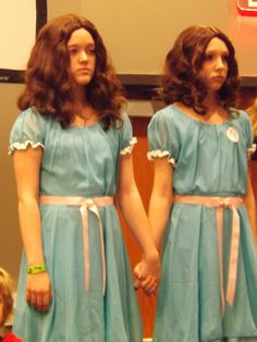 HorrorHound Convention. The Shining Twins.
