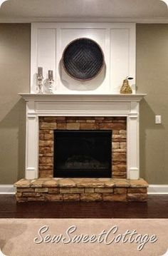 Beautiful Brick Fireplace Makeover For Family Room Remodel Idea ...