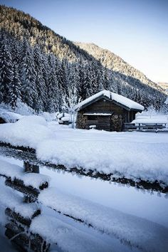 Snow Cabin, Italy