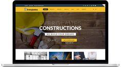 Everglades v1.3.5 – Construction WordPress Theme