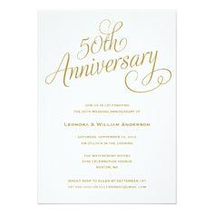 templates for 50th wedding anniversary invitations