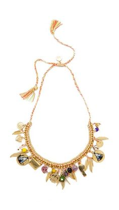 Venessa Arizaga Teepee Time Necklace #Shopbop #MakeTheOutfit