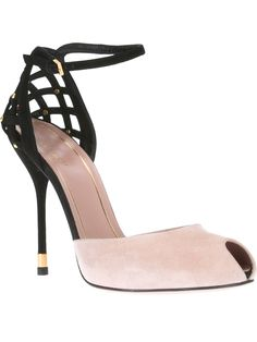 GUCCI peep toe pump