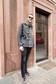 Men's Street Style - Backpack City Look