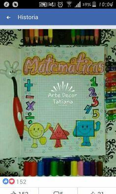 Bullet Journal Cover Ideas, Journal Covers, Decorate Notebook, Custom Notebooks, Border Design, Preschool Crafts, Book Design, Diy For Kids, Clip Art
