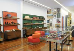 Retail Directory, Paul Smith San Francisco | Interiors | Wallpaper* Magazine | Wallpaper* Magazine: #fashiongame #fashion