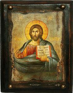 Икона Спас из Деисусного чина