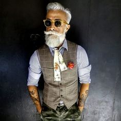 Manners_ Baarden  x  uit Australië - vet coole witte baard