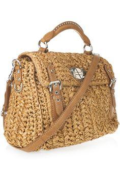 raffia bag! summer !!
