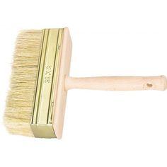 Кисть макловица, 50 х 150 мм, натуральная щетина, деревянный корпус, деревянная ручка Россия