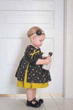 Nora Baby Dress - Violette Field Threads - 1