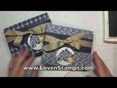 Envelope Punch Board: Make Your Own Card Gift Boxes   LovenStamps