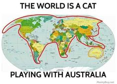 """38 Hilariously Unhelpful Gems From Terrible Maps - Funny memes that """"GET IT"""" and want you to too. Get the latest funniest memes and keep up what is going on in the meme-o-sphere. Memes Humor, Cat Memes, Animal Memes, Funny Animals, Funny Fails, Funny Jokes, Image Facebook, Like A Cat, Facebook Humor"""