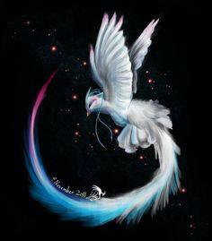 Arctic Star Phoenix ~ by Chirpy-chi on deviantART