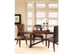 Shop for Gallery Trestle Dining Table, 2051-40, and other Dining Room Dining Tables Standard Finish: Chelsea.