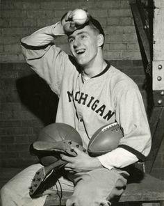 """1945 NFL Draft - Elroy """"Crazylegs"""" Hirsch (RB) - Round 1: Pick 5"""