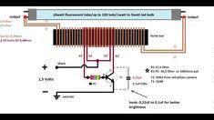1,5 volt inverter to 220 volts schematic diagram(schema)