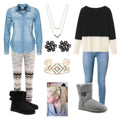 """:))"" by ajlamastra on Polyvore featuring Missoni, Vero Moda, UGG Australia, Toast, Michael Kors and Stella & Dot"