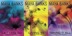 Românticos e Eróticos  Book: Maya Banks - Surrender #1 a #3