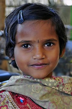 A girl I photographed in Southern India by  Joe Routon  #world_cultures