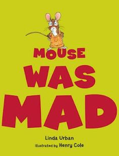 Mouse was Mad by Linda Urban. Great read aloud for the preschoolers, they can hop, stomp, yell, and be motionless along with all the animals Mouse encounters. Great story on what to do with anger and how you and sometimes others can help direct it. Elementary School Counseling, School Social Work, School Counselor, Social Emotional Learning, Social Skills, Coping Skills, Emotional Books, Social Issues, Life Skills