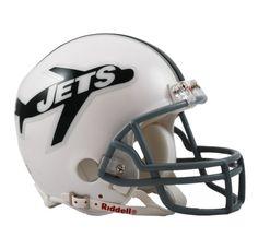 New York Jets 1963 Riddell Mini Throwback Helmet