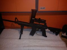 My tippmann US army alpha black had to sell miss this gun