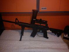 My tippmann US army alpha black had to sell miss this gun