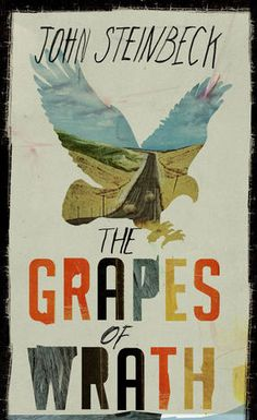 Fishpond Australia, The Grapes of Wrath by John Steinbeck. Buy Books online: The Grapes of Wrath, ISBN John Steinbeck Vintage Book Covers, Book Cover Design, Book Cover Art, Book Cover, Grapes Of Wrath, Wrath, Beautiful Book Covers, Lettering, Book Design