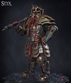 ArtStation - Styx Shards of Darkness : Dwarf Warrior, Jean-philippe Degosse