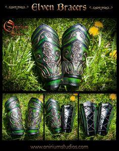 Elven set 2 by Deakath on DeviantArt Leather Armor, Arm Armor, Celtic, Medieval, Creations, Goth, Cosplay, Deviantart, Fantasy
