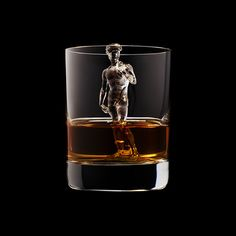 3D printed ice cubes by Suntory