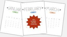 2016 calendar printable https://www.etsy.com/de/listing/251482126/2016-calendar-instant-download