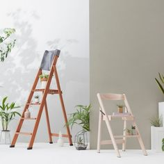 4-Step Home Ladder by Del Fabbro Italy #MONOQI