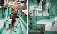 Boamistura Favela Murals In São Paulo