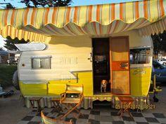 1958 Shasta Airflyte Tom & Lynne Miller Long Beach, California