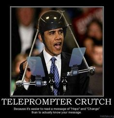 Teleprompter Crutch