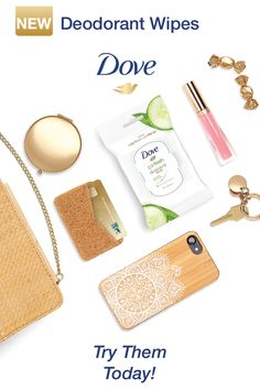 Pack Dove deodorant wipes in your purse for a discreet touch-up while out on the town with your girls. A convenient new way to stay fresh on the go. Fashion And Beauty Tips, Health And Beauty Tips, Beauty Skin, Beauty Makeup, Hair Beauty, Dove Deodorant, Feminine Hygiene, Body Treatments, Beauty Routines