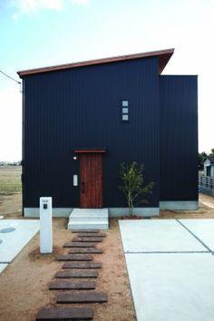 キューブ型住宅外観 - Google 検索