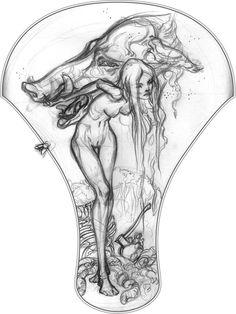 J.A.W. Cooper // Illustration - SKETCHBOOK