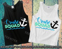 Excited to share this item from my shop: Cruise Squad Tank Top or T-Shirt Family Friends Cruise Vacation Source by Look t-shirt Top Cruise, Cruise Travel, Cruise Vacation, Vacation Ideas, Vacation Packing, Vacations, Group Cruise Shirts, Family Vacation Shirts, Family Shirts