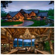 Tony Stewart's house!!