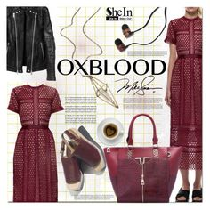 """""""Hot Color Trend: Oxblood"""" by barbarela11 ❤ liked on Polyvore featuring mode en maurices"""