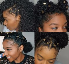 Luxurious Black Women Hairstyles - My list of the most beautiful women's hair styles Cabello Afro Natural, Pelo Natural, Natural Hair Tips, Natural Hair Inspiration, Over 60 Hairstyles, Cute Natural Hairstyles, Curled Hairstyles, Hairstyles 2018, Protective Hairstyles