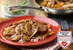 Campbell soup recipes for pork loin Ham Sausage Recipe, Pork And Beef Recipe, Pork Recipes, Healthy Recipes, Pork Meals, Healthy Cooking, Yummy Recipes, Healthy Eating, Lunches
